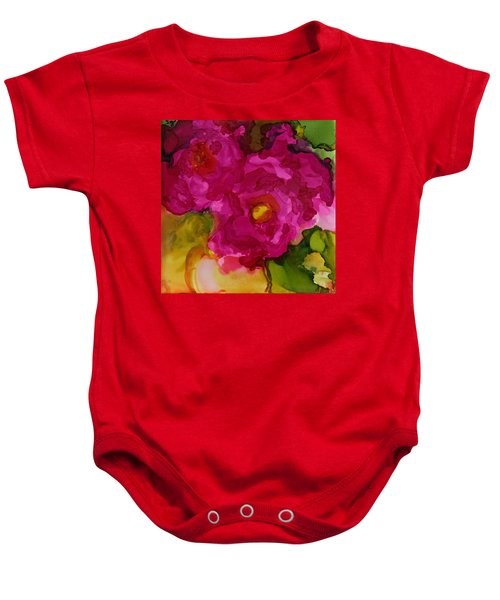 Rose To The Occation Baby Onesie