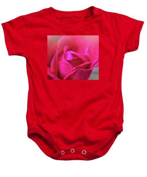 Rosebud Madness Baby Onesie