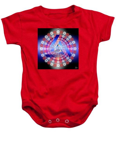 Sacred Geometry 646 Baby Onesie