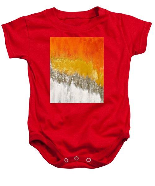 Saffron Sunrise Baby Onesie