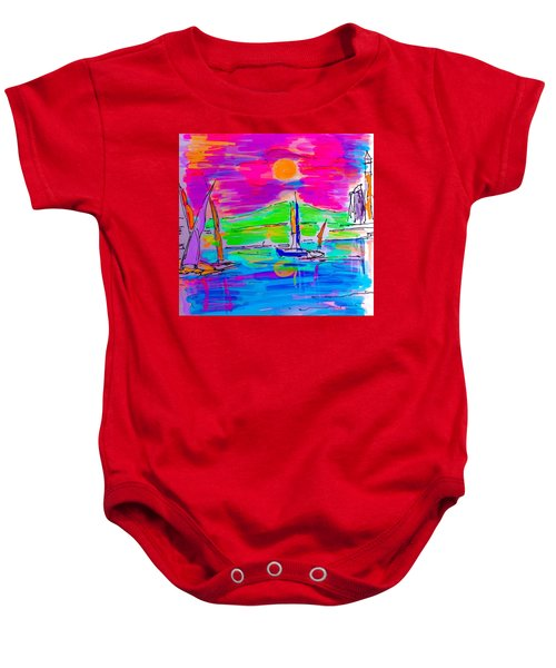 Sail Of The Century Baby Onesie