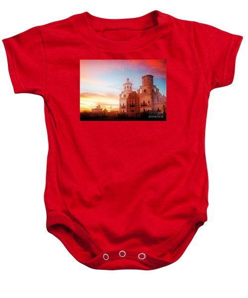 San Xavier Del Bac Baby Onesie