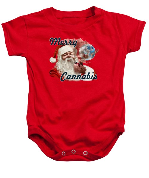 Santa's Oregon Vacation Baby Onesie