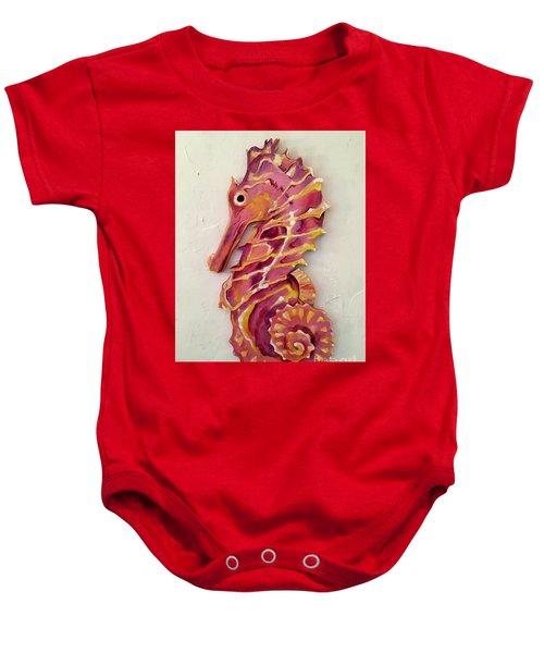 Seahorse  Baby Onesie
