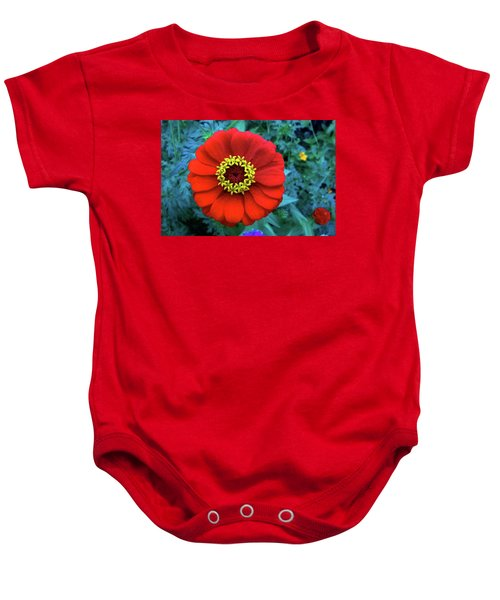 September Red Beauty Baby Onesie