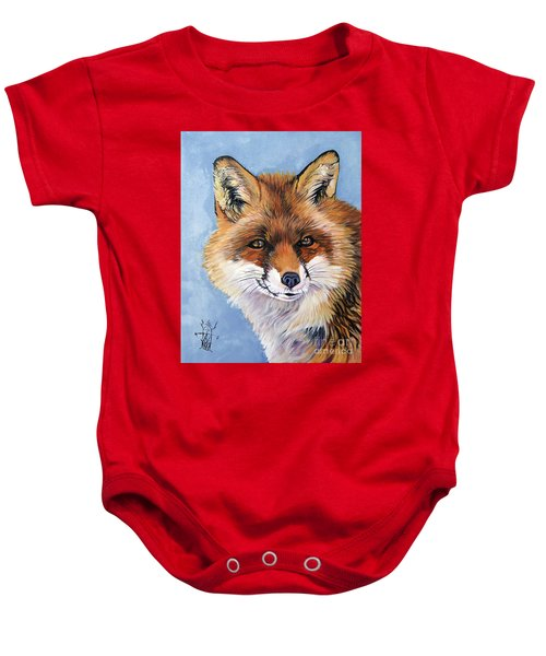 Smiling Fox Baby Onesie