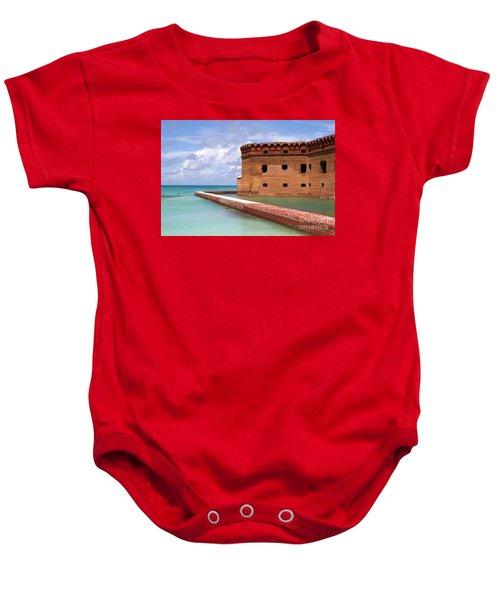 Snorkelers Fort Jefferson Baby Onesie