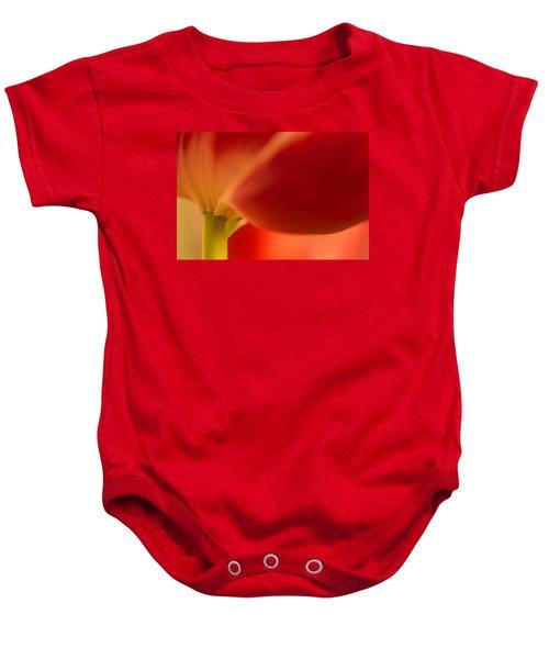 Soft Tulip Baby Onesie