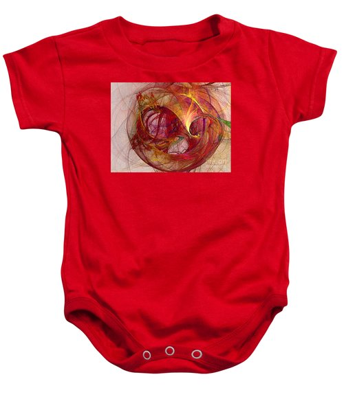 Space Demand Abstract Art Baby Onesie