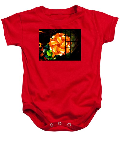Spheres Of Light Electrified Baby Onesie