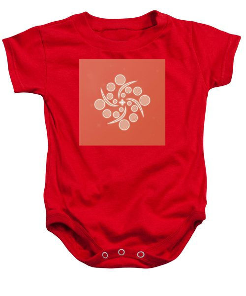 Spiral Of Life Baby Onesie