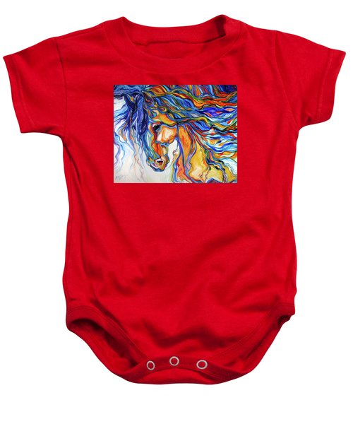 Stallion Southwest By M Baldwin Baby Onesie