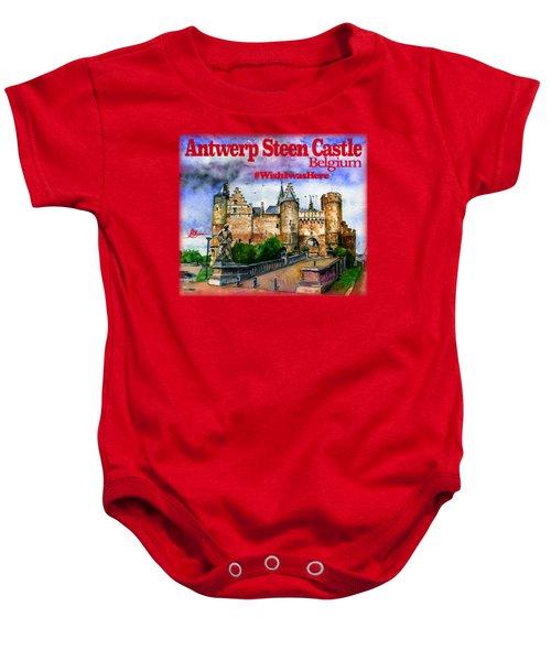 Steen Castle Antwerp Baby Onesie