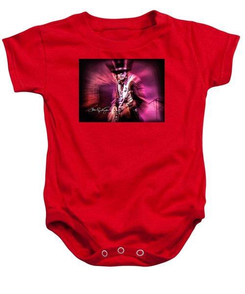 Stevie Ray Vaughan - Crossfire Baby Onesie