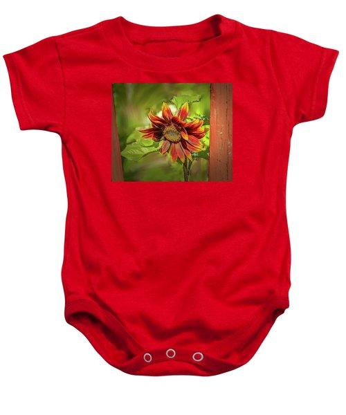 Sunflower #g5 Baby Onesie