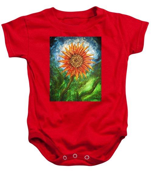 Sunflower Joy Baby Onesie