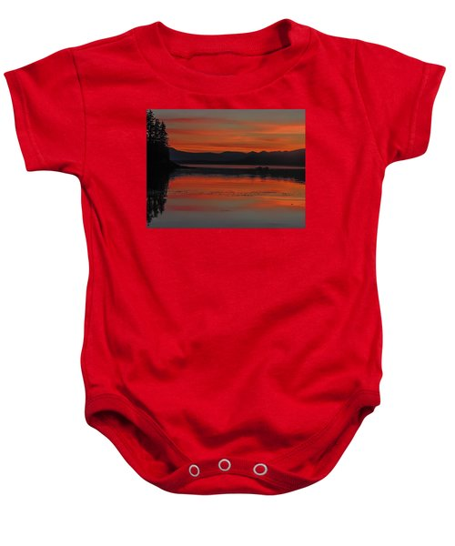 Sunset At Brothers Islands Baby Onesie