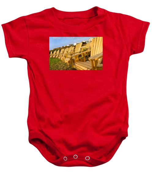 Sunset Watch Baby Onesie