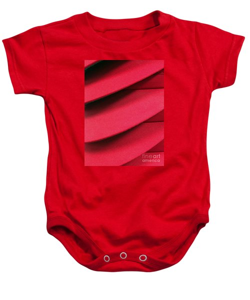 Swooshes And Shadows Baby Onesie