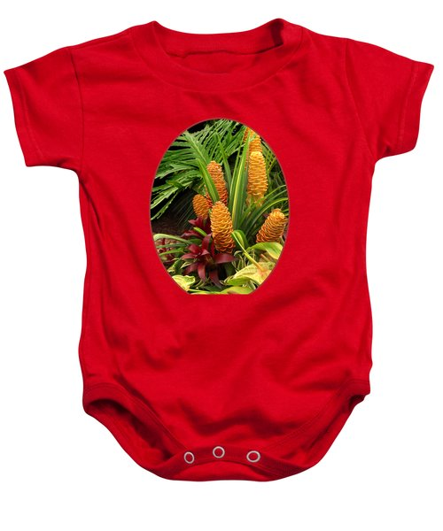 Tantalisingly Tropical Baby Onesie