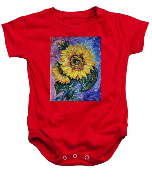 That Sunflower From The Sunflower State Baby Onesie