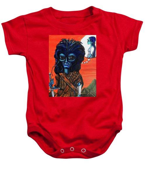 The Alien Braveheart Baby Onesie