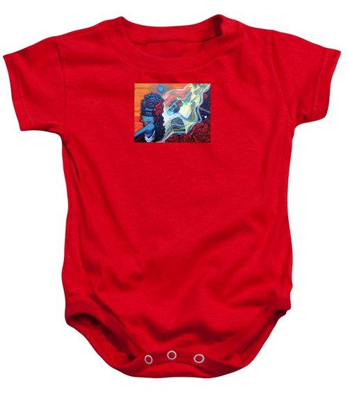 The Alien Scarlet Begonias Baby Onesie