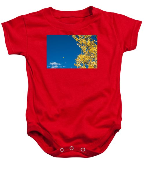 The Aspen Leaf Baby Onesie