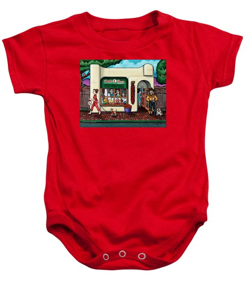 The Chile Shop Santa Fe Baby Onesie