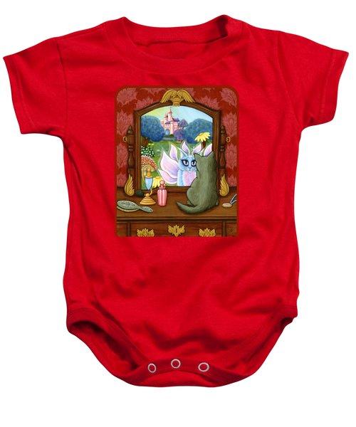 The Chimera Vanity - Fantasy World Baby Onesie