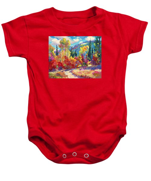 The Colors Of New Hampshire Baby Onesie
