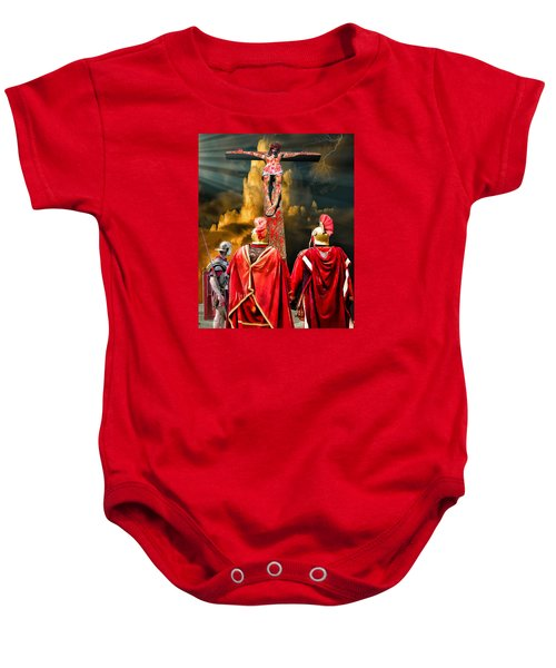 The Crucifixion Baby Onesie