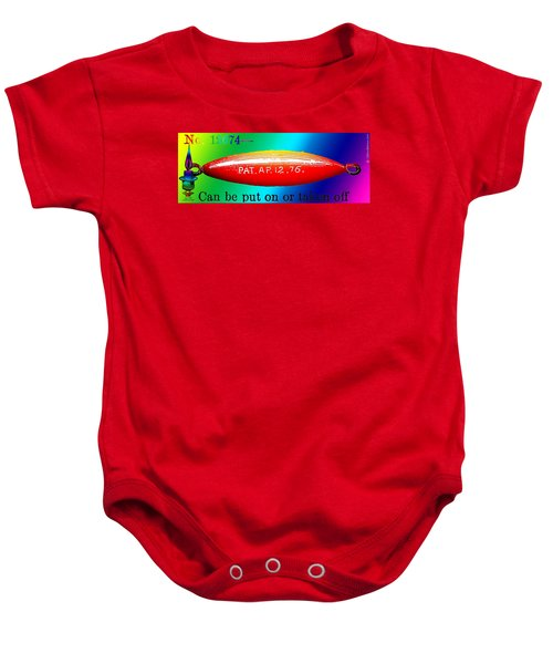 The Dirigible Sinker Baby Onesie