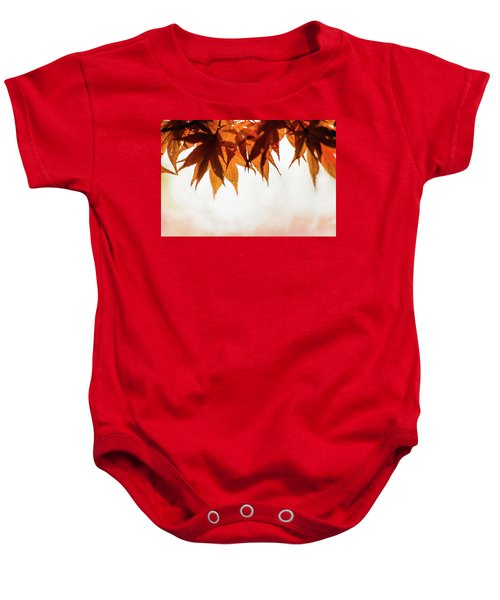 The Eaves Of Season Baby Onesie