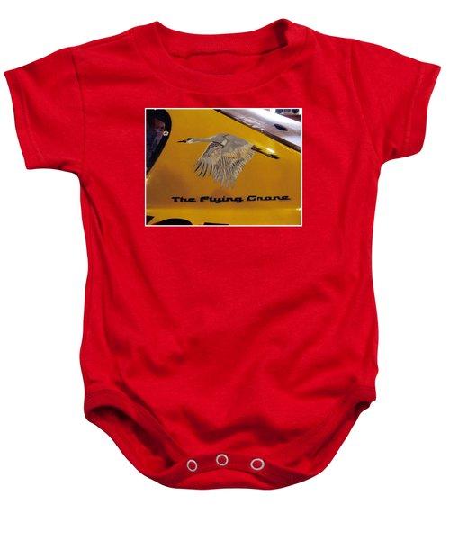 The Flying Crane Baby Onesie