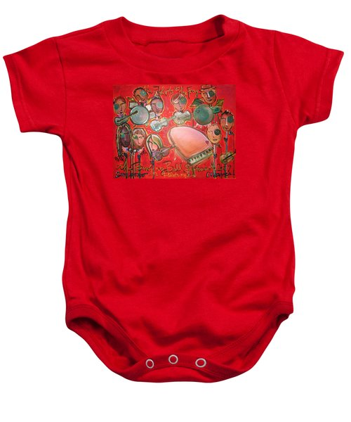 The Fray And The Flobots Baby Onesie
