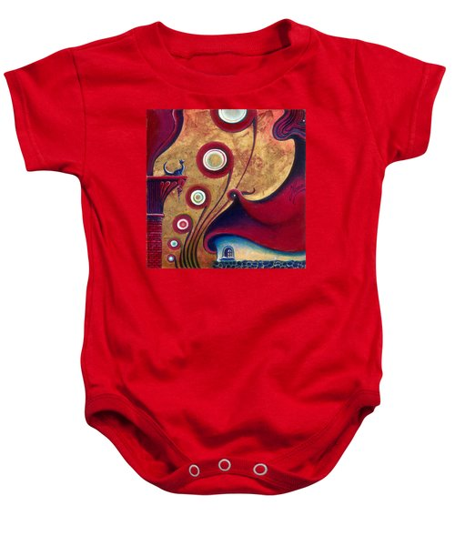 The Guardian Of Changes The Destiny Baby Onesie