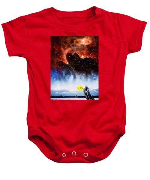 The Hermit's Path Baby Onesie