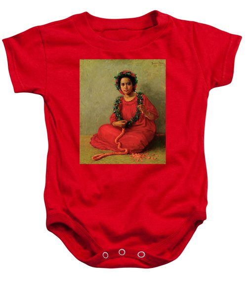The Lei Maker Baby Onesie
