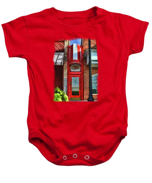 The Little Popcorn Shop In Wheaton Baby Onesie