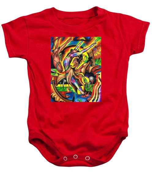 The Numinous Spectrum Of Exaltation Baby Onesie