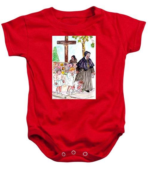 The Nuns Of St Marys Baby Onesie