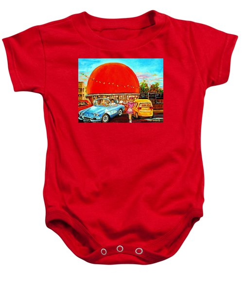 The Orange Julep Montreal Baby Onesie