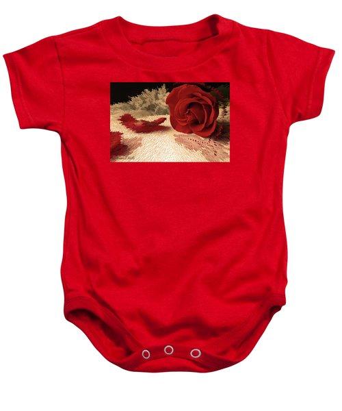 The Rose Baby Onesie