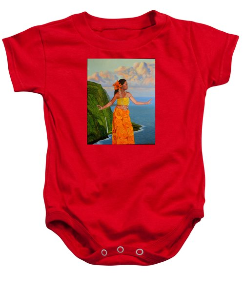 The Star Of The Sea Baby Onesie