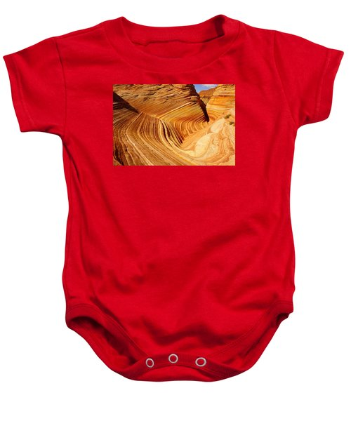 The Side Wave Baby Onesie