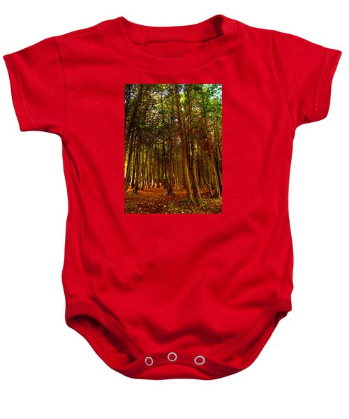 The Woods Baby Onesie