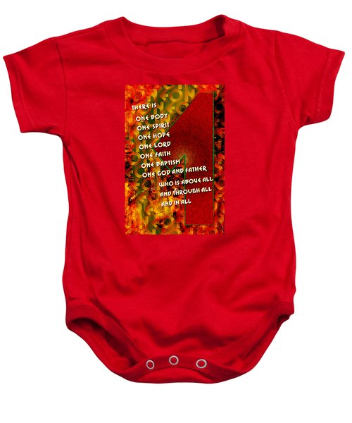 There Is Only One Baby Onesie
