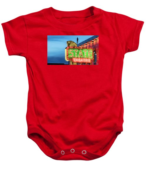 Traverse City State Theatre Baby Onesie