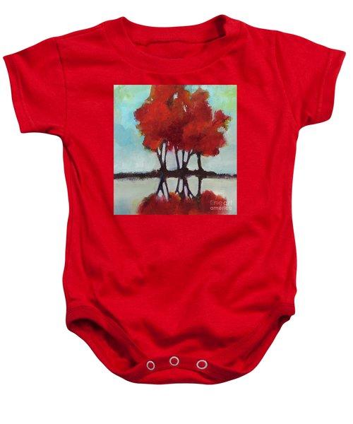 Trees For Alice Baby Onesie